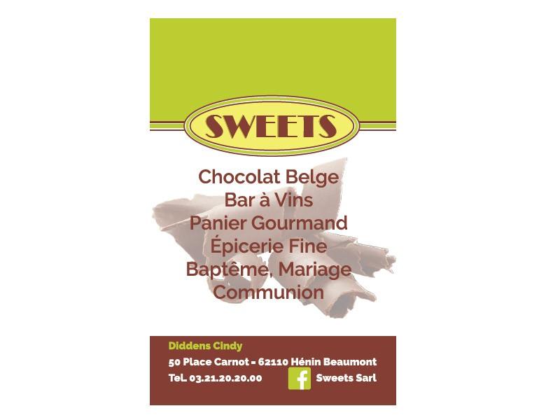 carte de visite sweet