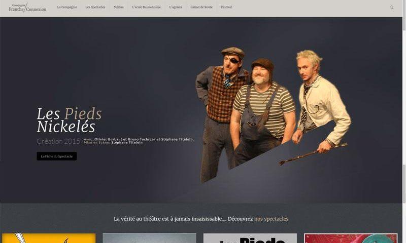 Site Web de la Compagnie Franche Connexion